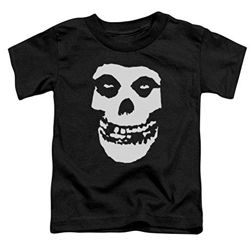 Kids Misfits Fiend Skull Toddler Shirt, Black, 4T