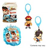 Capcom 64972 24 Piece CDU Street Fighter Backpack Keychain Hangers