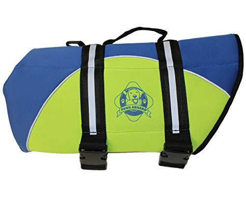 Image of Paws Aboard BY1200 Neoprene Doggy Life Jacket, X-Small