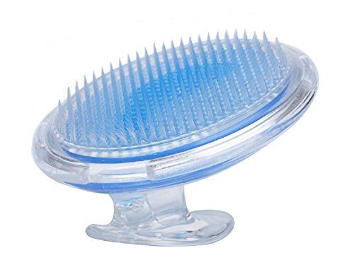 MEILI Fine Bristle Brush for Treating Ingrown Hairs and Razor Bumps