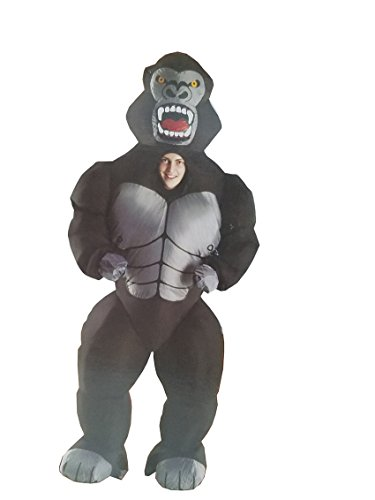 Morphsuits Adult Inflatable Costume, Gorilla]()