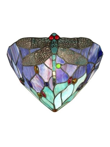 Dale Tiffany Dragonfly Lamp - 9