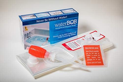 WaterBOB Bathtub Emergency Water Storage Container, Drinking Water Storage, Hurricane Survival, BPA-Free (100 Gallon) (1)