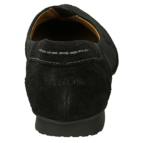 Taos Schoeisel Vrouwen Marvey Lederen Slip Op Zwart