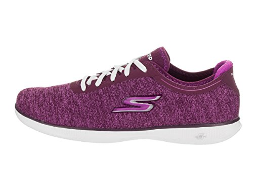Skechers Go Step Lite-Agile Mujer US 5.5 Morado Zapato para Correr
