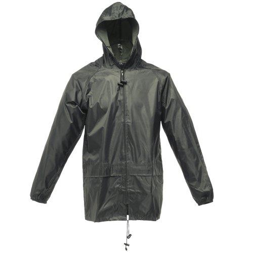 Regatta Mens Stormbreak Waterproof Windproof Performance Jacket (M) (Dark Olive)