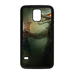 Samsung Galaxy S5 Cell Phone Case Black League of Legends Galactic Renekton Czvhg