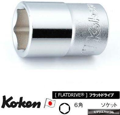 山下工業研究所(Ko-ken) ソケット 6角 4400A-1 差込角:12.7mm×全長:42mm×規格:1インチ 1個