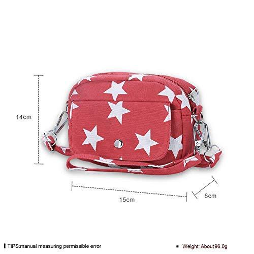 Muestra Tamaño Para Un Se Tamaño Pack Rojo Como Bolso De Muestra Mujer Eeayyygch Muñeca color Lona Trend 6FZanqw1