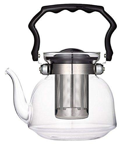 TkUniware Kitchen, Dining & Bar Glass Teapot with Filter 2200ml A10046 from TkUniware