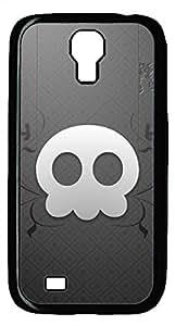 Samsung Galaxy S4 I9500 Black Hard Case - Z Skull Galaxy S4 Cases