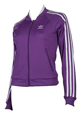 Veste Adidas Originals Supergirl Tt Violet Pour Femme