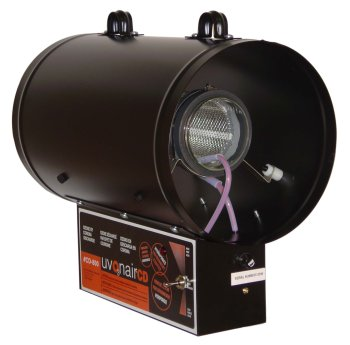 (Uvonair 8 Inch CD-In-Line Duct Ozonator Corona Discharge)