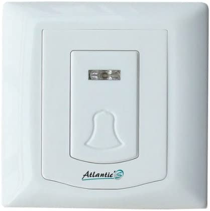 AtlanticS PB-206R Carillon dentr/ée sans Fil PB 206r-atlantics Blanc