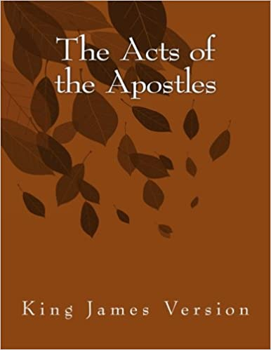 Book The Acts of the Apostles: King James Version: Volume 5 (The Foster Collection of Bible Books: New Testament)