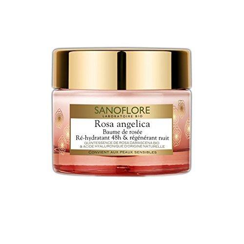 Sanoflore Rosa Angelica 48-hour Rehydrating & Regenerating Night Balm By Sanoflore for Women - 1.69 Oz Balm, 1.69 Oz