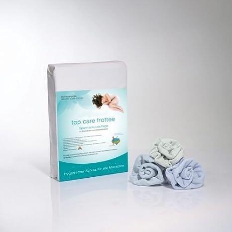 Protección completa Funda Top Care Rizo con Zipp - wasserundurchlässiger Protector de colchón, 100% algodón, tela, 160 x 200 cm: Amazon.es: Hogar