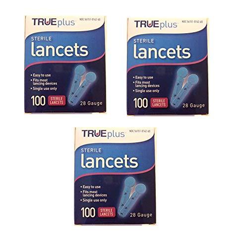 TruePlus Sterile Lancets 28