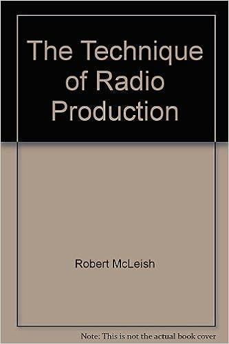 ROBERT MCLEISH RADIO PRODUCTION PDF DOWNLOAD