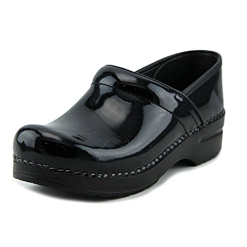 Athletic Nursing Clogs (Dansko Womens Professional Patent Black Patent - 38 (US Women's 7.5 - 8.0) B(N) US)
