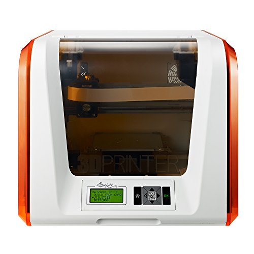 "da Vinci Jr. 1.0 3D Printer ~ 6"" x 6'' x 6'' Built Volume (Includes: $14 300g PLA Filament , $49 3D Design eBook, $10 Maintenance Tools, XYZmaker 3D Design CAD Software) - Fully Enclosed Design for PLA/ Tough PLA/ PETG/ Antibacterial PLA"