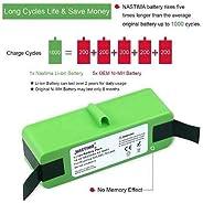 Bateria Robot De Limpeza 4400 Lítio Li-ion 14,4v sim
