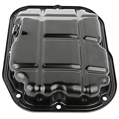 FEIPARTS Engine Oil Pan for 03-17 Mitsubishi Endeavor Montero 3.8L OE Solutions MIP02A MR994042 Oil Drain Pan: Automotive