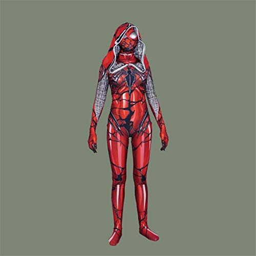 Movie Tv Costumes - Anime Movie Silk Spider Man Red Venom Cosplay Costumes Women Tights Zentai Lady Clothing Customize - Iron TV Spider Aikatsu Vinyl Cosplay Goth Newborn Custom Art Men Overa