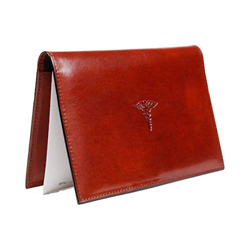 Bosca Old Leather Prescription Pad (Cognac)