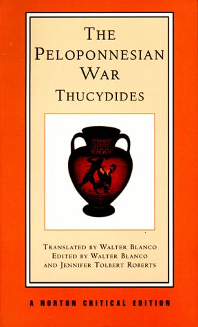 Book cover for History of the Peloponnesian War