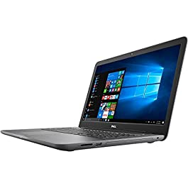 2018 Dell Inspiron 17 17.3″ HD+ Laptop Computer, Intel Core i5-7200U up to 3.10GHz, 8GB DDR4 RAM, 256GB SSD + 1TB HDD, 802.11ac WIFI, Bluetooth 4.2, USB 3.0, Backlit Keyboard, HDMI, Windows 10