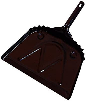 """Zephyr 47112 Metal Dust Pan, 12"""" Width (Pack of 12)"""