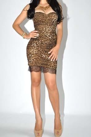 Mesh sequin rose bodycon dress
