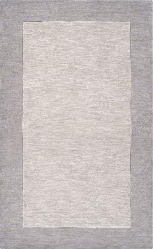 Surya Mystique 7'6 x 9'6 Hand Loomed Wool Rug in Gray