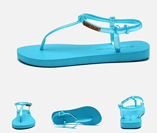 Women's Flat Sporty Beach Sandal Shoes Casual Athletic Sandals 8 vdsZ2ifHb