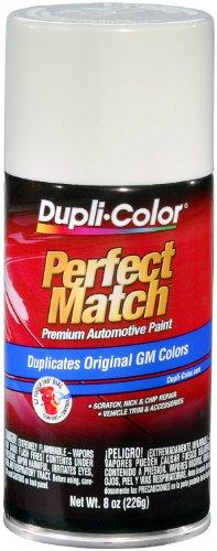 Dupli-Color EBGM01387 Dover/Arctic White General Motors Exact-Match Automotive Paint - 8 oz. Aerosol. -