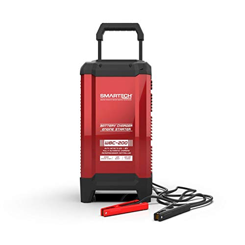 - Smartech WBC-200 6V/12V Wheel Automotive Battery Charger Maintainer