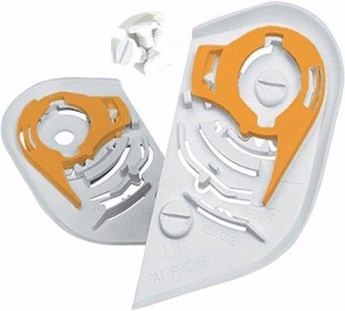 - ICON HELMET Proshield IC-02 Shield/Visor Pivot Kit, White For AIRFRAME,ALLIANCE,-show original title