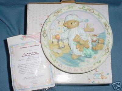 Cherished Teddies Wee Willie Winkie Collector Plate ()