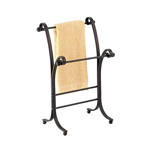 bathroom towel stand countertop - 8