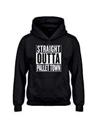 Indica Plateau Straight Outta Pallet Town Kids Hoodie