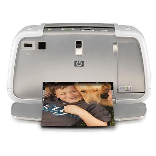 HP Docking Compact Travel On Go Photosmart A434 Photo Printer - No Camera (A434 Studio Photo Photosmart Portable)