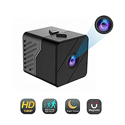 Mini Spy Camera Hidden Camera Conbrov HD33 1080P Indoor Home Security Camera Nanny Cam Built-in Battery Motion Detection Night Vision Home Office from conbrov