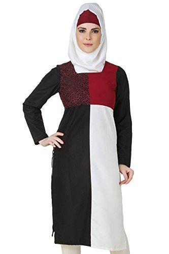 Multi 127 islamische gestickte Kashibo Tunika KRF Damen MyBatua Schöne 4c7ZnWqq