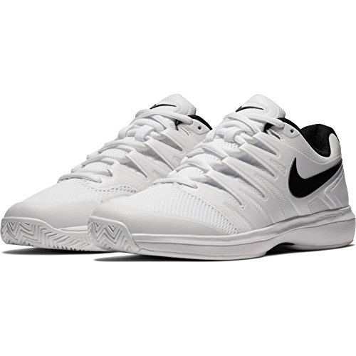 Court Mens Jacket - NIKE Men's Air Zoom Prestige Tennis Shoe, White/Black, 9