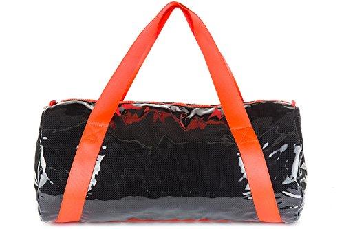 Emporio Armani EA7 sac de sports femme beach mesh noir