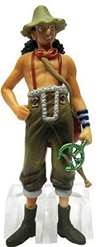 One Piece: Straw Hat Pirates Chozokei Damashii New World Arc Trading Figures WIth Base ~4