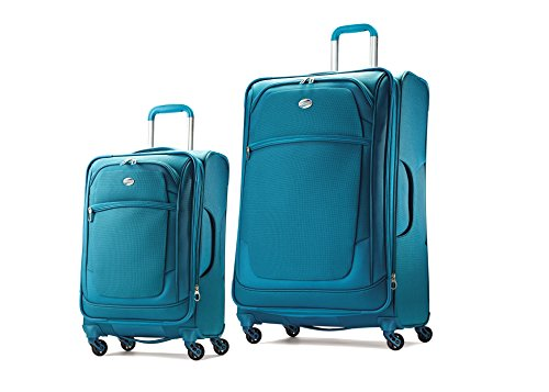 American Tourister Ilite Xtreme Set of 21 and 29 Spinner (Capris Breeze) American Tourister Lightweight Garment Bag