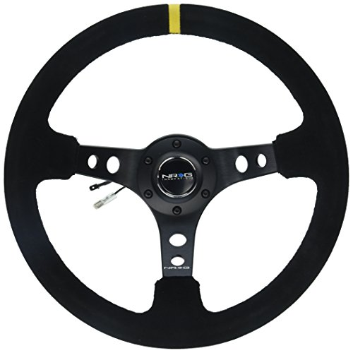 NRG Innovations RST-006S-Y Reinforced Steering Wheel  - Sued