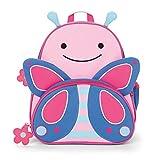Skip Hop Toddler Backpack, 12' Butterfly School Bag, Multi